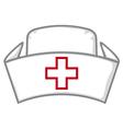 nurse cap vector image vector image