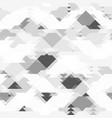 Repeating grey pattern with geometric shapes