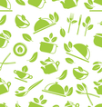 Seamless Pattern with Healthy Eating vector image vector image