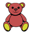 teddy bear icon icon cartoon vector image vector image