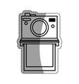 Vintage photographic camera vector image vector image