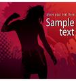 Dancing party vector image