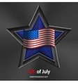 4th of july background USA Independence Day vector image vector image