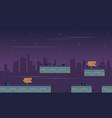 landscape city for game background