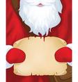Santa postman vector image
