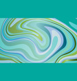 sea texture abstract background in blue and green vector image vector image
