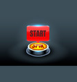 start spin casino coin cash machine play now vector image