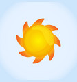 sun image design vector image vector image