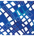 blue grid mosaic background creative vector image