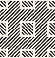 seamless hand drawn pattern zigzag and stripe vector image
