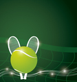Tennis background design vector image