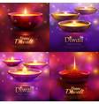 diwali celebration design concept vector image