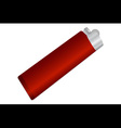 cigarette lighter vector image