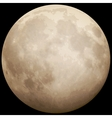 Full Moon taken on 13 July 2014 EPS 10 vector image