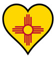 love new mexico vector image vector image