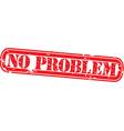 no problem stamp vector image