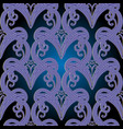 ornamental vintage seamless pattern vector image