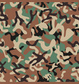 syrian woodland camouflage seamless patterns vector image vector image