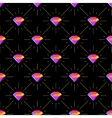 Diamonds colorful luxury seamless pattern vector image
