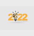 logo 2022 new year creativity inspiration vector image