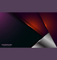 modern abstract overlap texture layer background vector image vector image