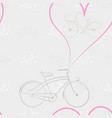 new pattern 2019 45 bike vector image vector image