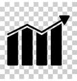 Trend Icon vector image vector image