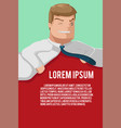 business man office background template vector image