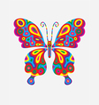 Butterfly abstract colorfully vector image vector image