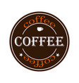 coffee logo eps 10 vector image vector image