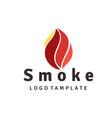 fire flame logo design inspiration vector image vector image