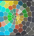 mosaic pattern background bright colorful tiles vector image vector image