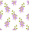 pattern with orchids vector image vector image