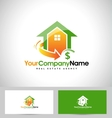 Real Estate Design House vector image vector image