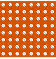 Seamless pattern with baseball balls vector image vector image