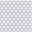 Seamless pattern with white polka dots vector image vector image