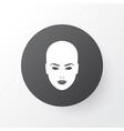 face icon symbol premium quality isolated head vector image