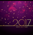 2017 new year celebration background vector image vector image