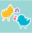 cartoon romantic love sign vector image