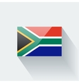 Flag of South Africa vector image vector image