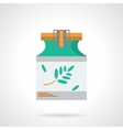 Herbal tincture flat color icon vector image vector image