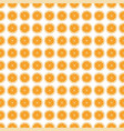 seamless pattern background orange vector image vector image