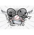 Tennis Sport Emblem vector image vector image