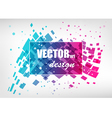 Abstract colorful business template vector image vector image