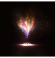 abstract eps10 creative dynamic magic fire