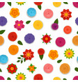 abstract spring flowers seamless pattern seamless