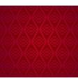 Seamless Red Retro Pattern Background vector image