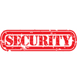 Security stamp vector image