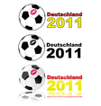 women's soccer Germany 2011 vector image vector image