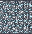 abstract winter pattern vector image